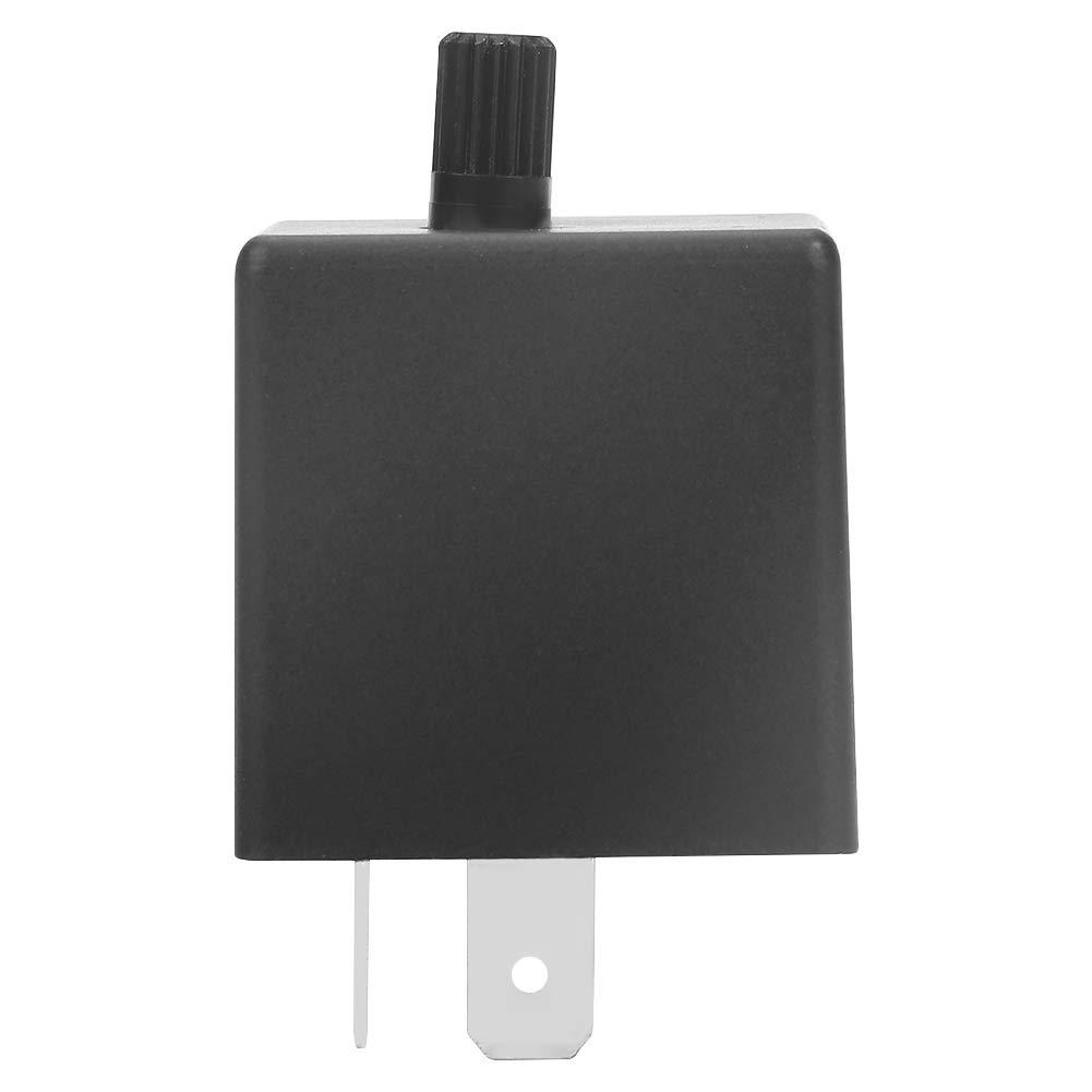 LED-Blinkrelais CF13 JL-02 3 Poliges Elektronisches Flasher Relay f/ür LED Blinkergl/ühlampe Hyper Blinken