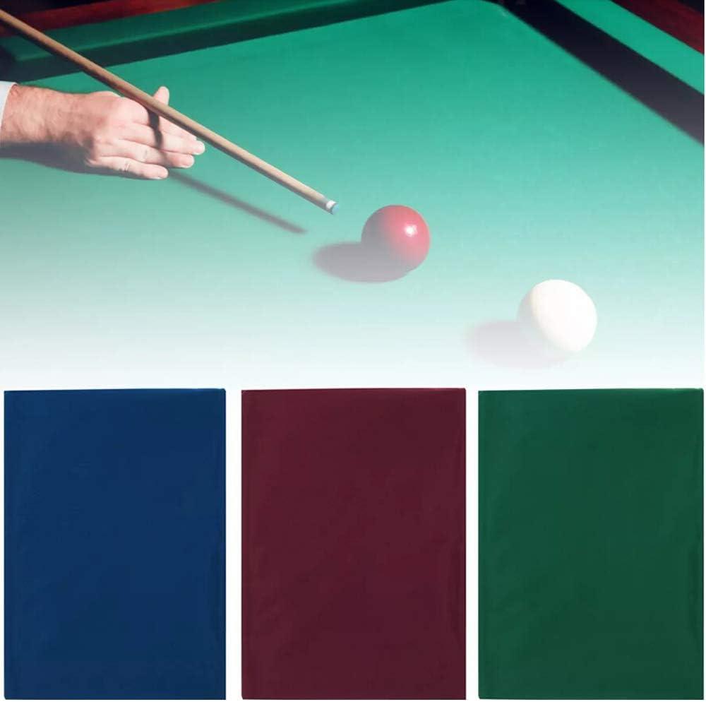 Lepeuxi Paño de Cubierta de Mesa de Billar de Billar de una Cara de 2.5x1.45m para Bola de Billar de Mesa de 7/8 Pulgadas: Amazon.es: Deportes y aire libre