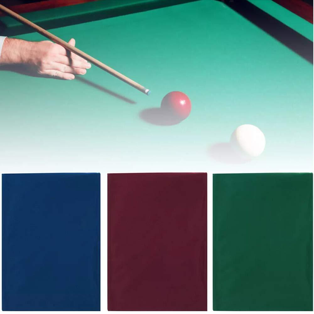Walmeck 2.5x1.45m einseitige Billard Pool Snooker Tischdecke f/ür 7//8 Zoll Tisch Billardkugel