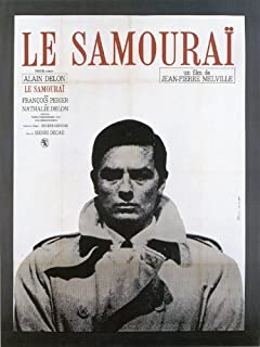 Amazon.com: Le Samourai 27 x 40 Movie Poster - French Style A ...