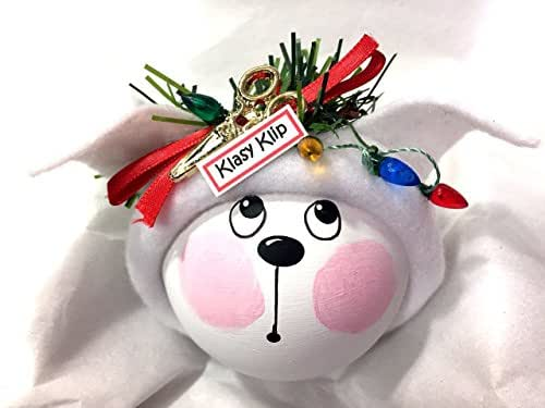 Amazon.com: Dog Groomer Gift Christmas Ornament White Dog ...