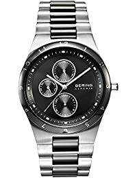 Time 32339-742 Mens Ceramic Collection Watch with Stainless steel Band and scratch resistant sapphire · Bering