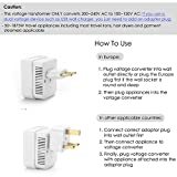 BESTTEN 1875W Voltage Converter Transformer and