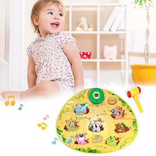 Zigtee Children's Toy Whac a Mole Game Dance Mat Puzzle Music Pad by Zigtee (Image #2)