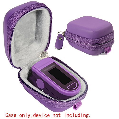 WGear Case for Zacurate Pro 500DL, Childrend: Innovo Deluxe, Santamedical 2. Facelake FL400 t. FL350: Vive Precision Spo2 Accumed cms-50dl, 50D1, Healthtree (Purple)