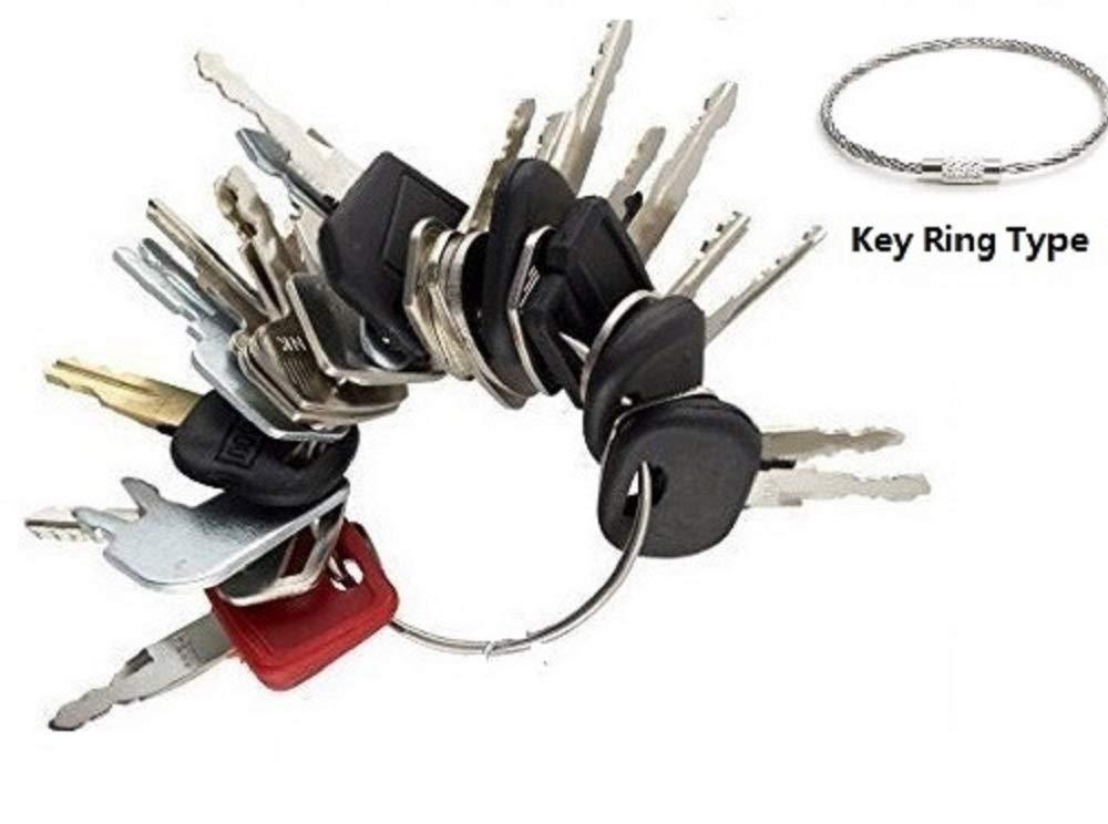 abc_zok 24 Keys Construction Ignition Key Set/Heavy Equipment Construction Key Set (24 Keys)
