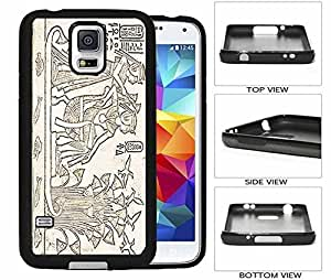 Egyptian Pharaoh and Queen Galaxy S5 Rubber (TPU) Back Case