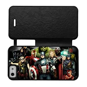 The Avengers Iron Man,Captain America,Hulk,Thor Custom Cover Case for iPhone5,5S