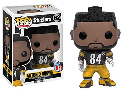 Funko POP NFL: Wave 3 - Antonio Brown Action Figure
