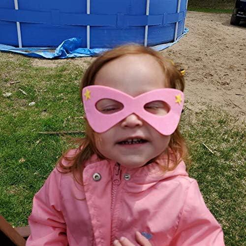51YgfFVmmYL. AC  - RoterSee 50Pcs Superhero Masks Party Favors for