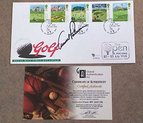 ARNOLD PALMER AUTOGRAPHED BRITISH OPEN GOLF ENVELOPE - ST. ANDREWS - AUTHENTIC ()