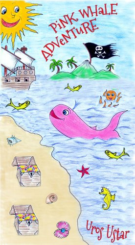 Book: Pink whale adventure by Uroš Uštar