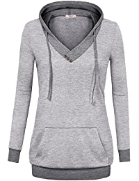 Amazon.com: Grey - Fashion Hoodies & Sweatshirts / Clothing ...