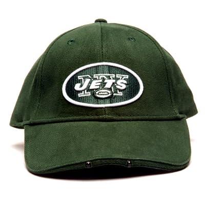 Lightwear NFL New York Jets Dual LED Headlight Adjustable Hat from Lightwear