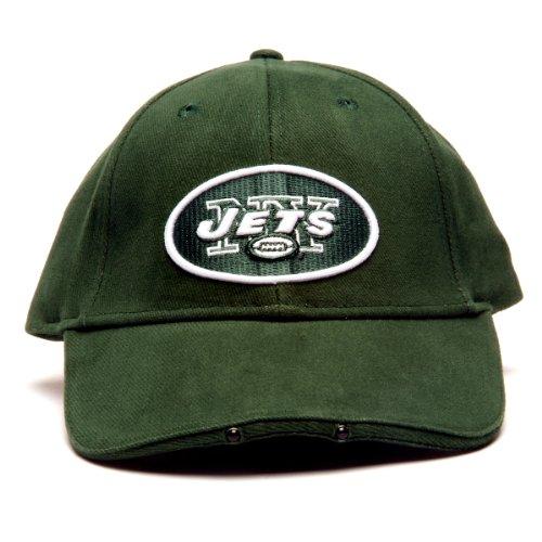 Lightwear NFL New York Jets Dual LED Headlight Adjustable Hat by Lightwear