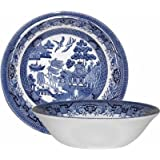 Churchill Blue Willow Cereal Bowl 15.5cm (Set of 6)