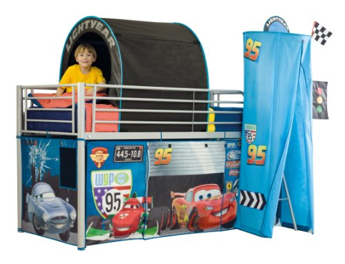 Worlds Apart 490CAS01 Cars 2 Hochbett Vorhang Set: Amazon.de ...