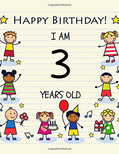 Happy Birthday Notebook/Journal: Birthday Notebook or Keepsake Journal for 3 Year Old (Birthday Notebooks) (Volume 2) pdf epub