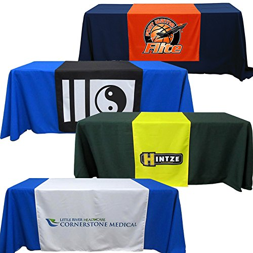 Customized Table Runners 2' x 5.67' Free Design with using Your Text and image for $<!--$29.99-->