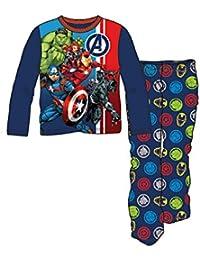 Avengers Boys Team Symbol 2-Piece Pajama Set
