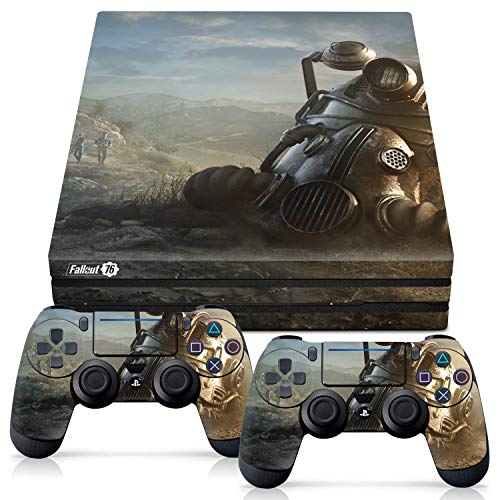 Price comparison product image Controller Gear Officially Licensed Console Skin Bundle for PS4 Pro - Fallout - Power Armor Helmet