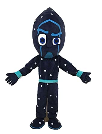 Aris pj mask Mascot Night Ninja Costume pj Masks Costumes for Birthday Party