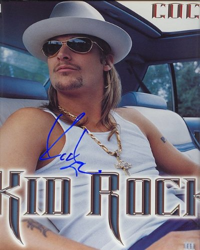 Kid Rock Cocky Autographed Preprint Signed 11x14 Poster Photo - Kid Rock Memorabilia