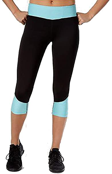 b2e5070a648f11 Image Unavailable. Image not available for. Color: Ideology Rapidry  Colorblocked Capri Leggings ...