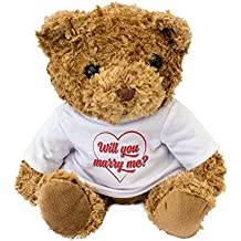 NEW - Will You Marry Me - Teddy Bear - Cute And Cuddly - Present Gift Romance Love