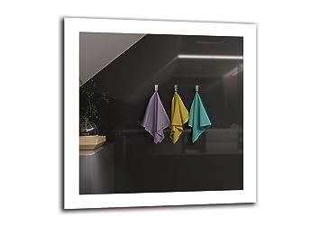 Arttor Led Spiegel Premium Spiegelmassen 70x70 Cm Badspiegel Mit