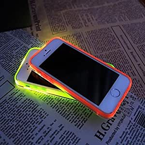 ZXSPACE iPhone 5/iPhone 5S compatible Special Design/Glow in the Dark Back Cover , Gray
