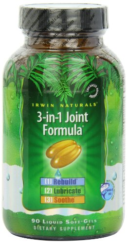 Ирвин Naturals 3-в-1 Совместное Формула (90 Softgels)