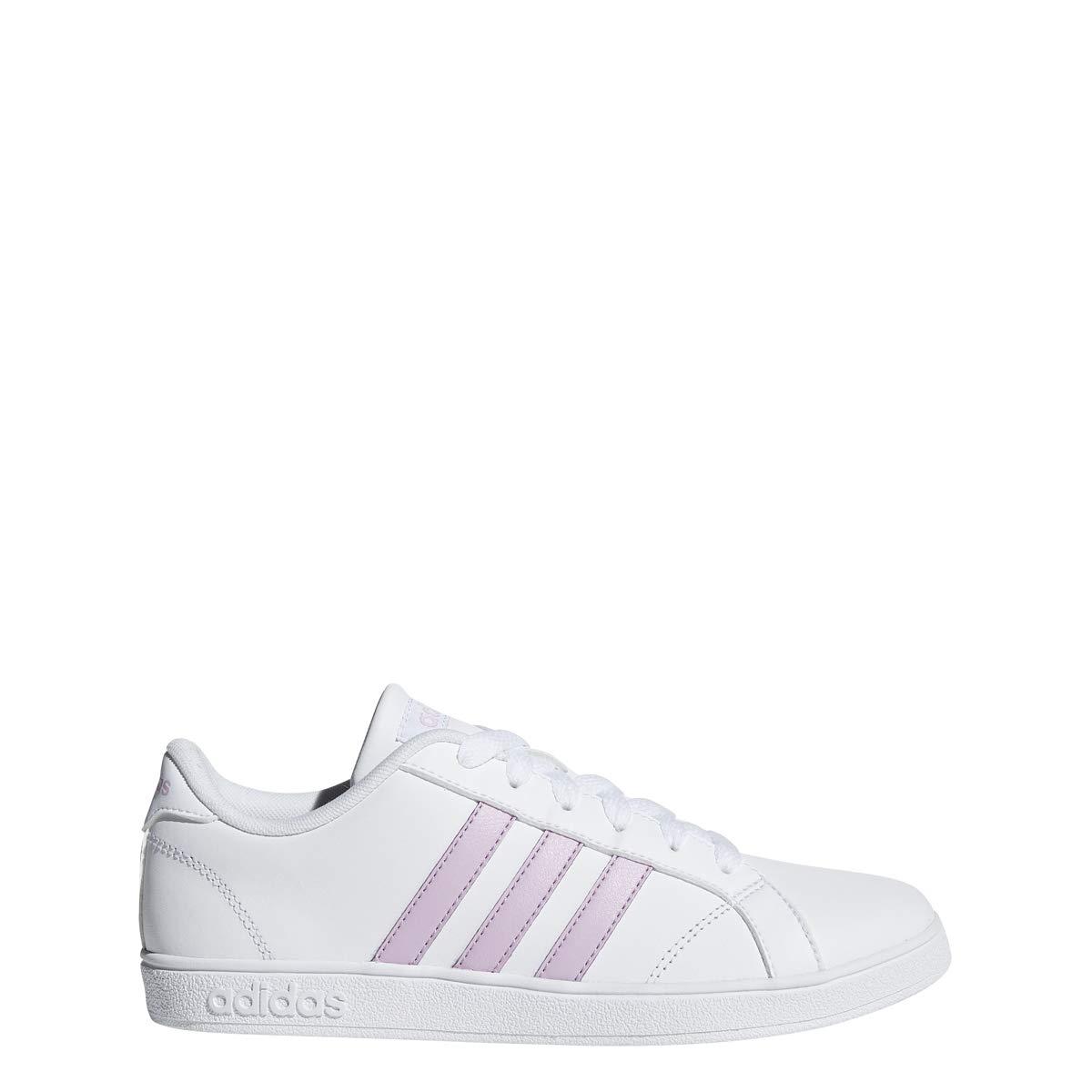 on sale 7ca31 1e5e8 Galleon - Adidas Performance Unisex-Kids Baseline, White Clear Lilac White,  2 M US Little Kid