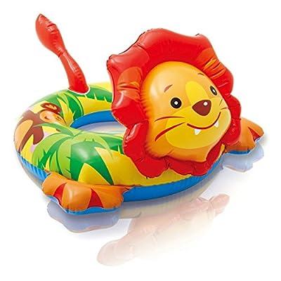 Intex Big Animal Swim Ring Pool Float (Lion): Sports & Outdoors