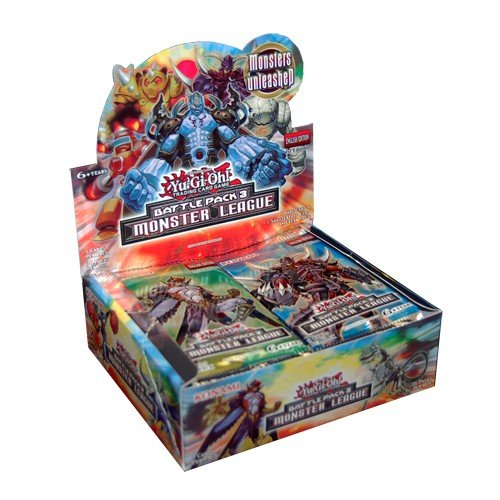 Yugioh Battle Pack 3: Monster League Booster Box Draft Box