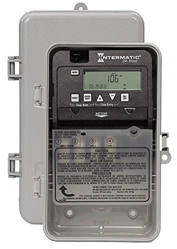 Electronic Timer, 24 hr, SPST-NO (Intermatic 24 Hr Electronic)