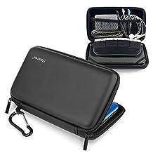 Insten Eva Case Compatible With Nintendo NEW 3DS XL / NEW 2DS XL / 3DS XL / 3DS LL, Black