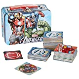 Marvel Avengers Memory Match Game in Mini Lunchbox Tin