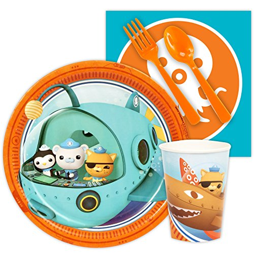 Party Pack for 24 BirthdayExpress The Octonauts Party Supplies