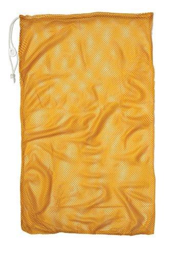 (Champion Sports Mesh Equipment Bag, Gold, 24