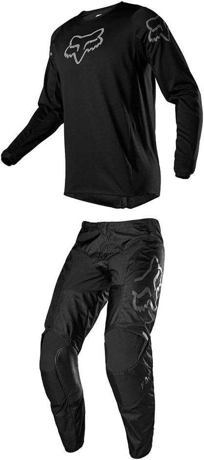 2X//28-BLK Fox Racing 180 Prix Jersey//Pants Set