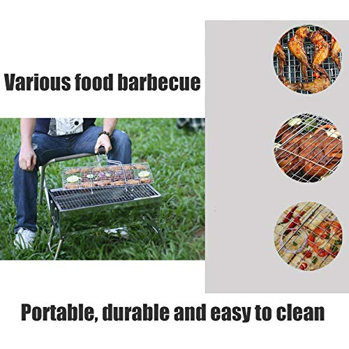 Amazon.com: LiRongPing - Parrilla portátil para barbacoa y ...