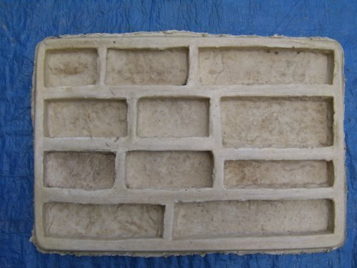 1 Ledge Stone Veneer Concrete Rubber Mold Plus 1 Free