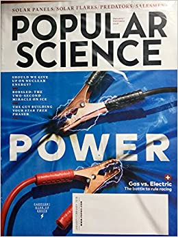 Popular Science January February 2018 Power Amazon Com Books