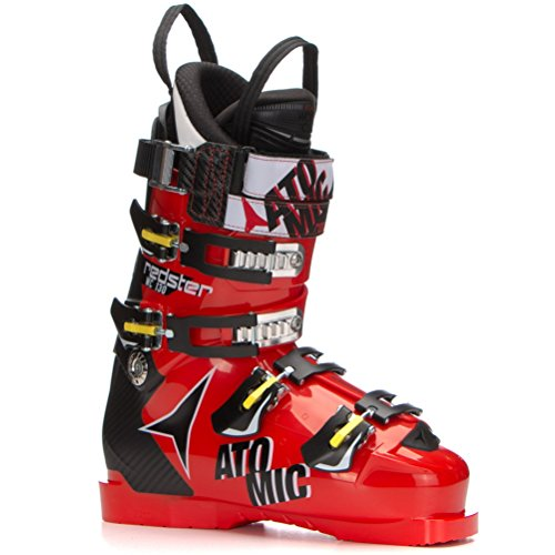 [Atomic Redster WC 130 Race Ski Boots - 26.5/Red-Black] (Mens Race Ski Boots)