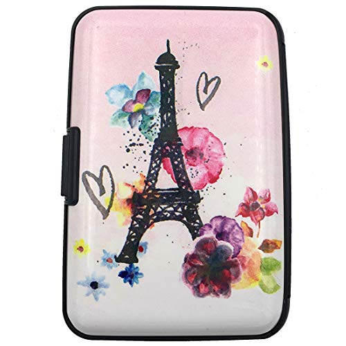 - RFID Credit Card Holder for Women or Men,Theft Proof Credit Card Holder,Slim Design Fits in Pocket (Tower)