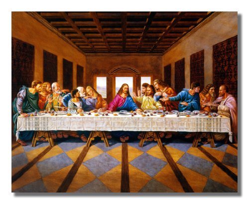 Christ Supper Religious Picture Art product image