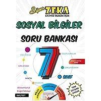 Nar Test 7. Sınıf Süper Zeka Sosyal Bilgiler Soru Bankası Fen Liselerine Hazırlık-YENİ