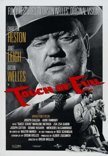 - Touch of Evil Poster Movie E 11x17 Charlton Heston Orson Welles Janet Leigh Joseph Calleia