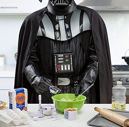 ThinkGeek Star Wars R2-D2 Measuring Cup Set - Body Built from 4 Measuring Cups and Detachable Arms Turn Into Nesting Measuring Spoons - Unique Kitchen Gadget